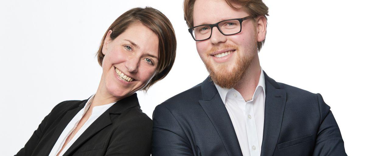 Herr Moritz Oelighoff und Frau Annette Olligschläger-Ebert