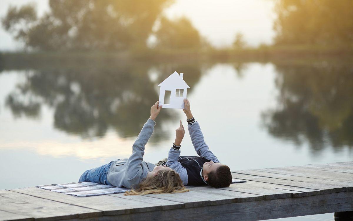 Traum von einem Zuhause