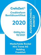 Crefo Zertifikat 2020